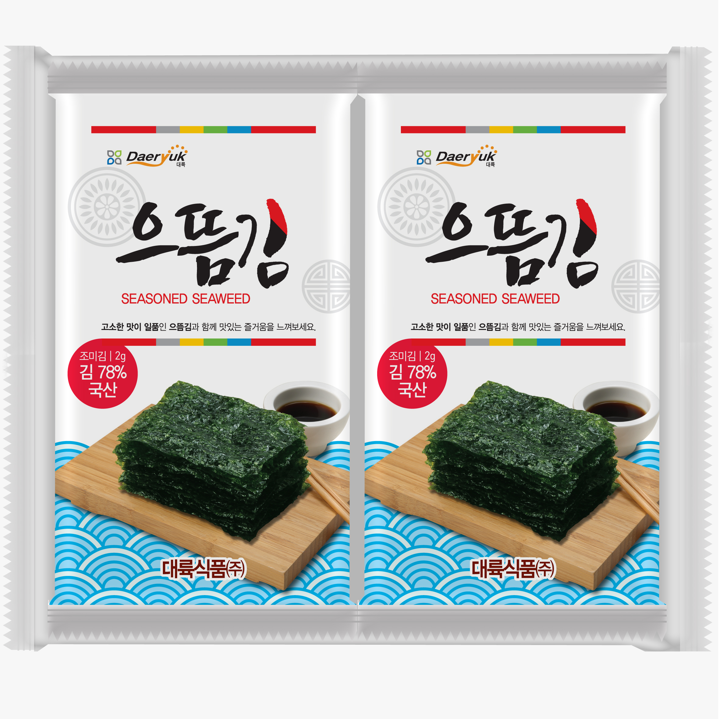 DAERYUK SEASONED SEAWEED